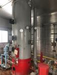 Plains oil 36'' x 12' vertical inlet Separator