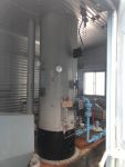 Vertical 36'' x 12' Inlet Separator