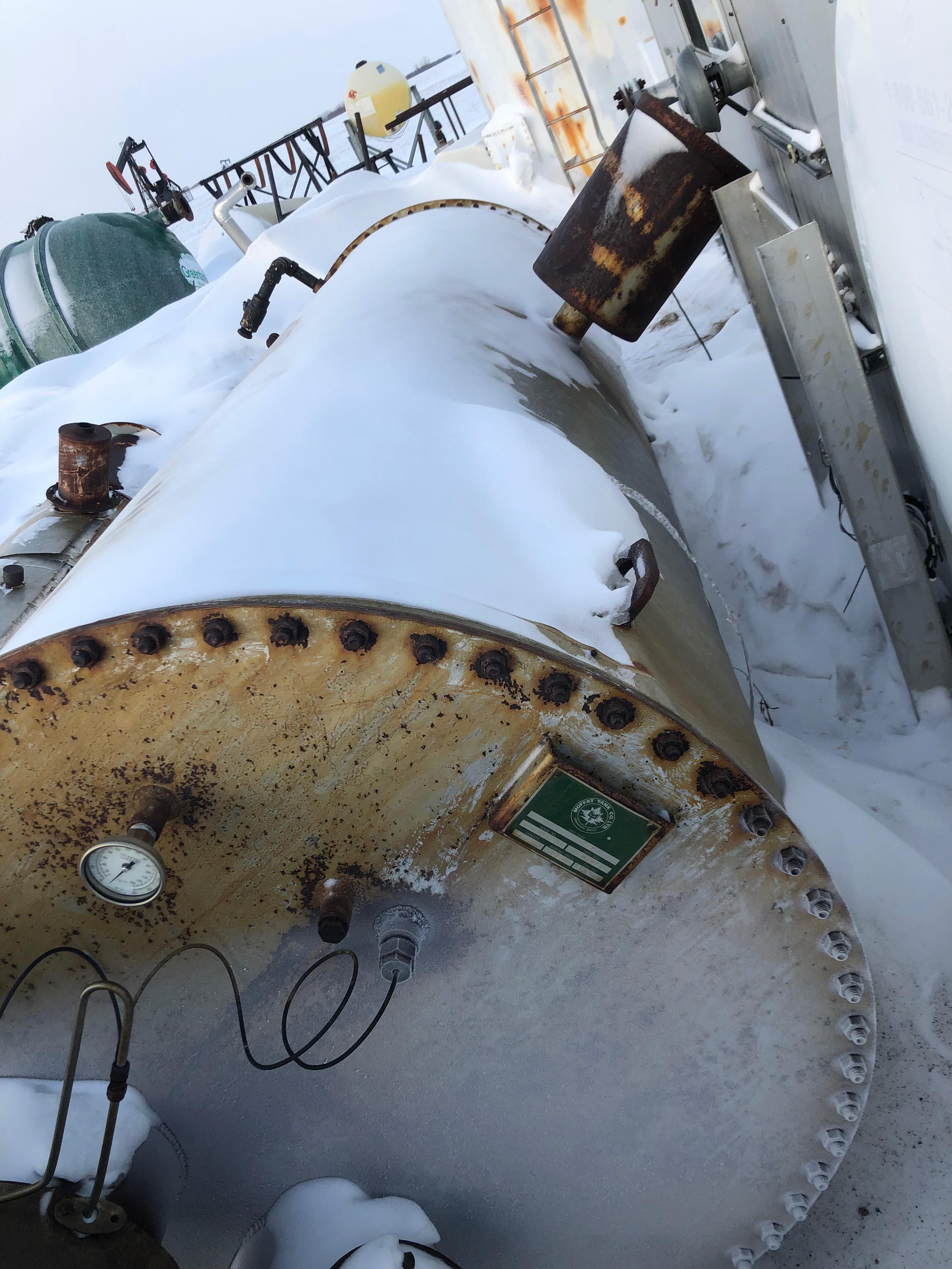 line heater- mfg by. moffat tank co. ltd.