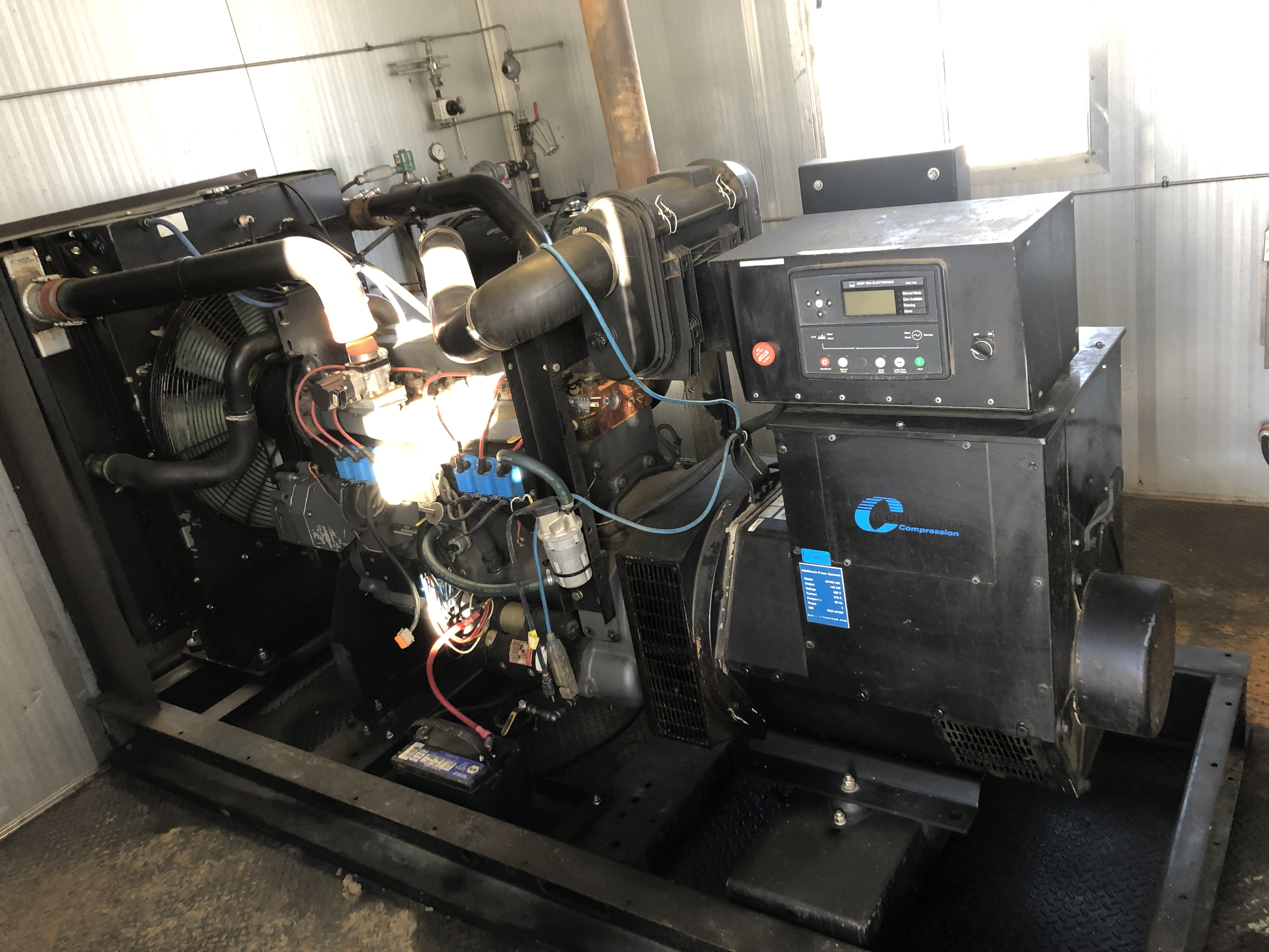 Stamf0rd 140kw Generator Package. 26,000hrs