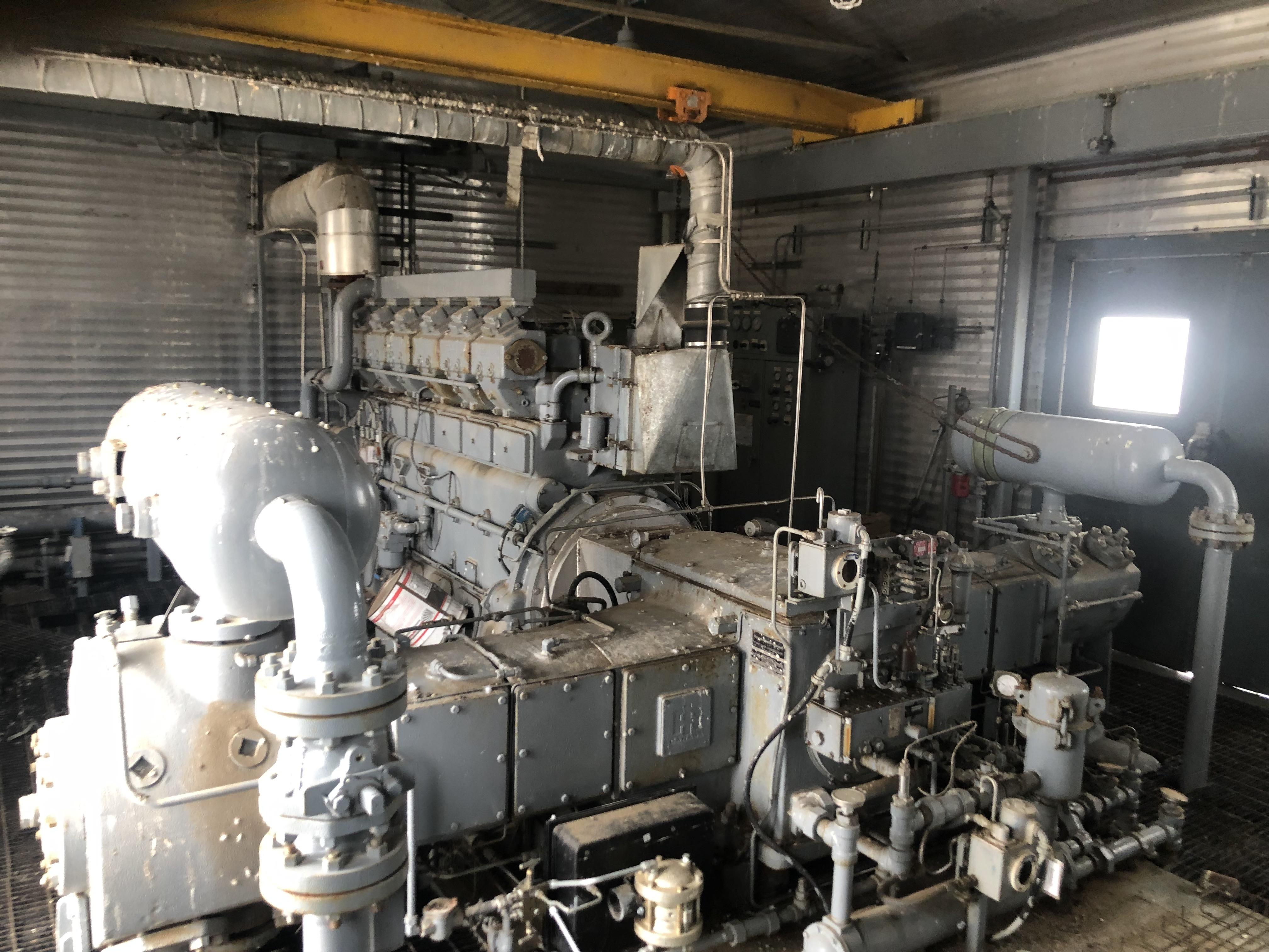 waukesha compressor pkg