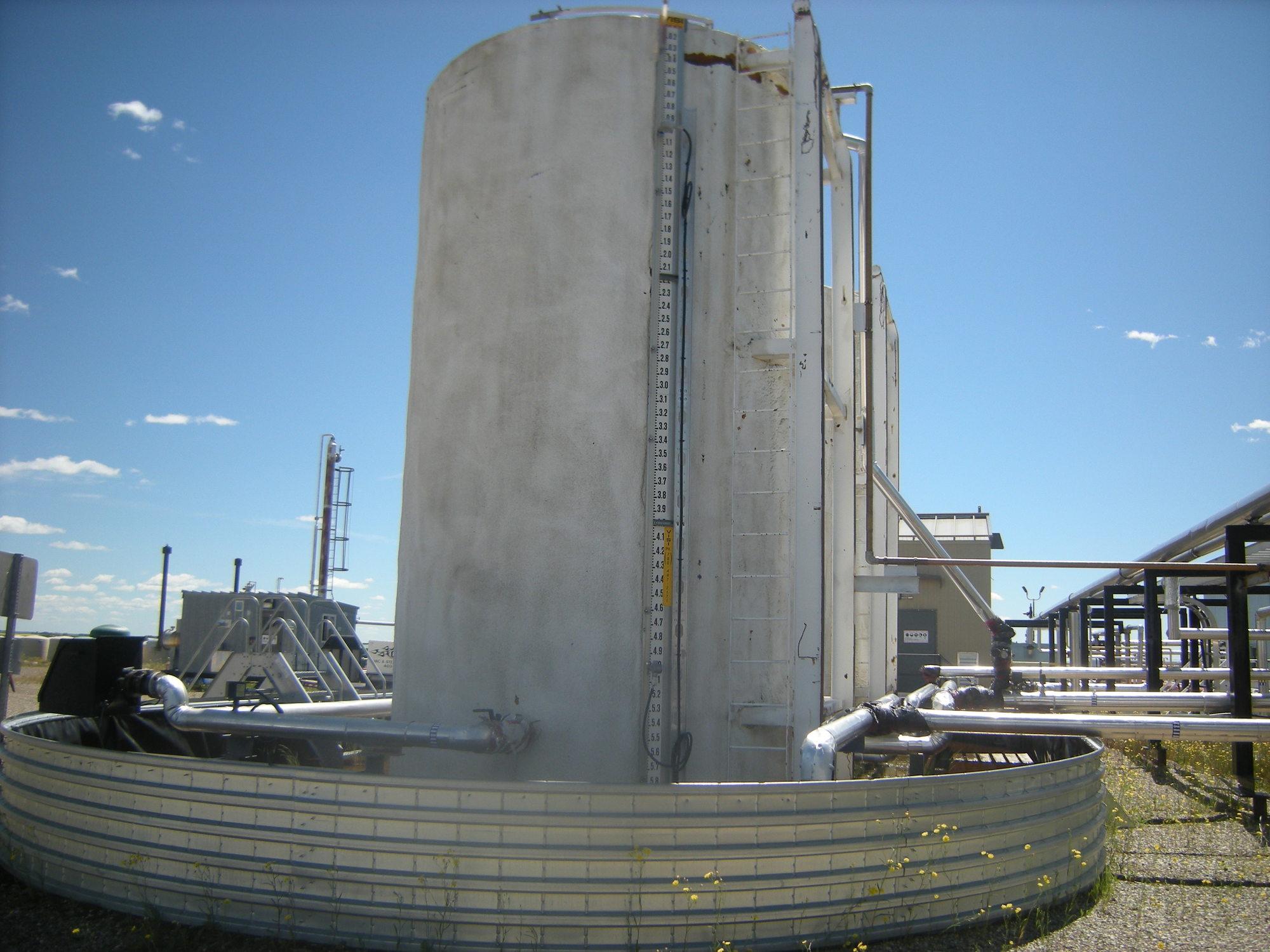 1998 storage tank 400 bbl