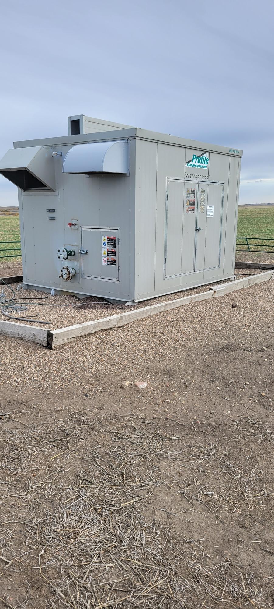2006 compressor - 95 hp vilter other whisper 95lp screw 0 psi