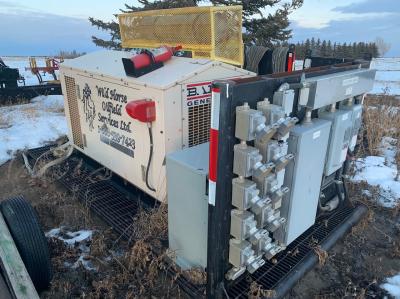 baldor generator - natural gas driven