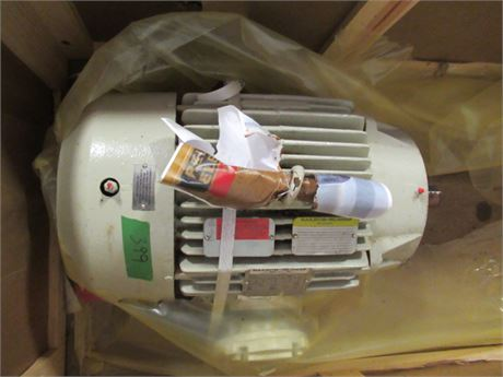 baldor 30 hp explosion proof/severe duty electric motor, unused.