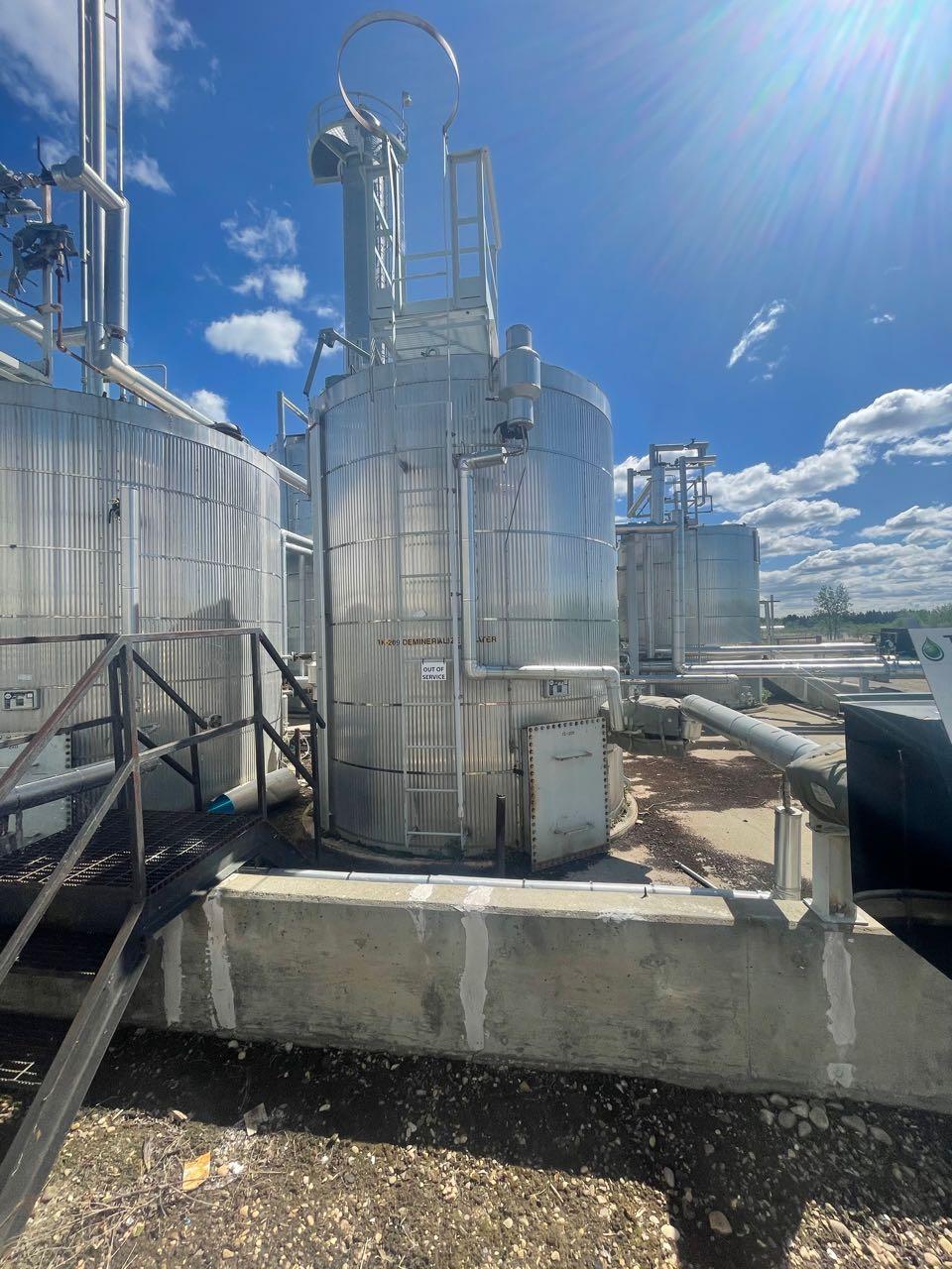 150bbl water storage tank