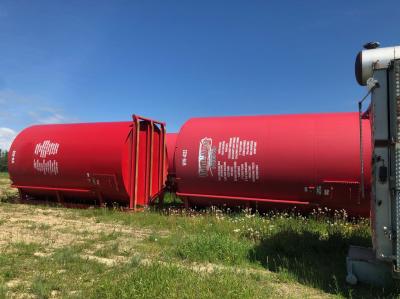 400bbl single wall frac/production tanks