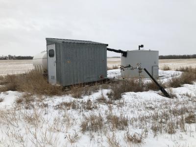 separator and skidded shack