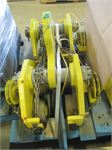 15 tonne exo international geared beam trolley