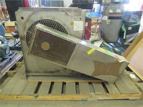 new american fan co. air supply unit  50 hp
