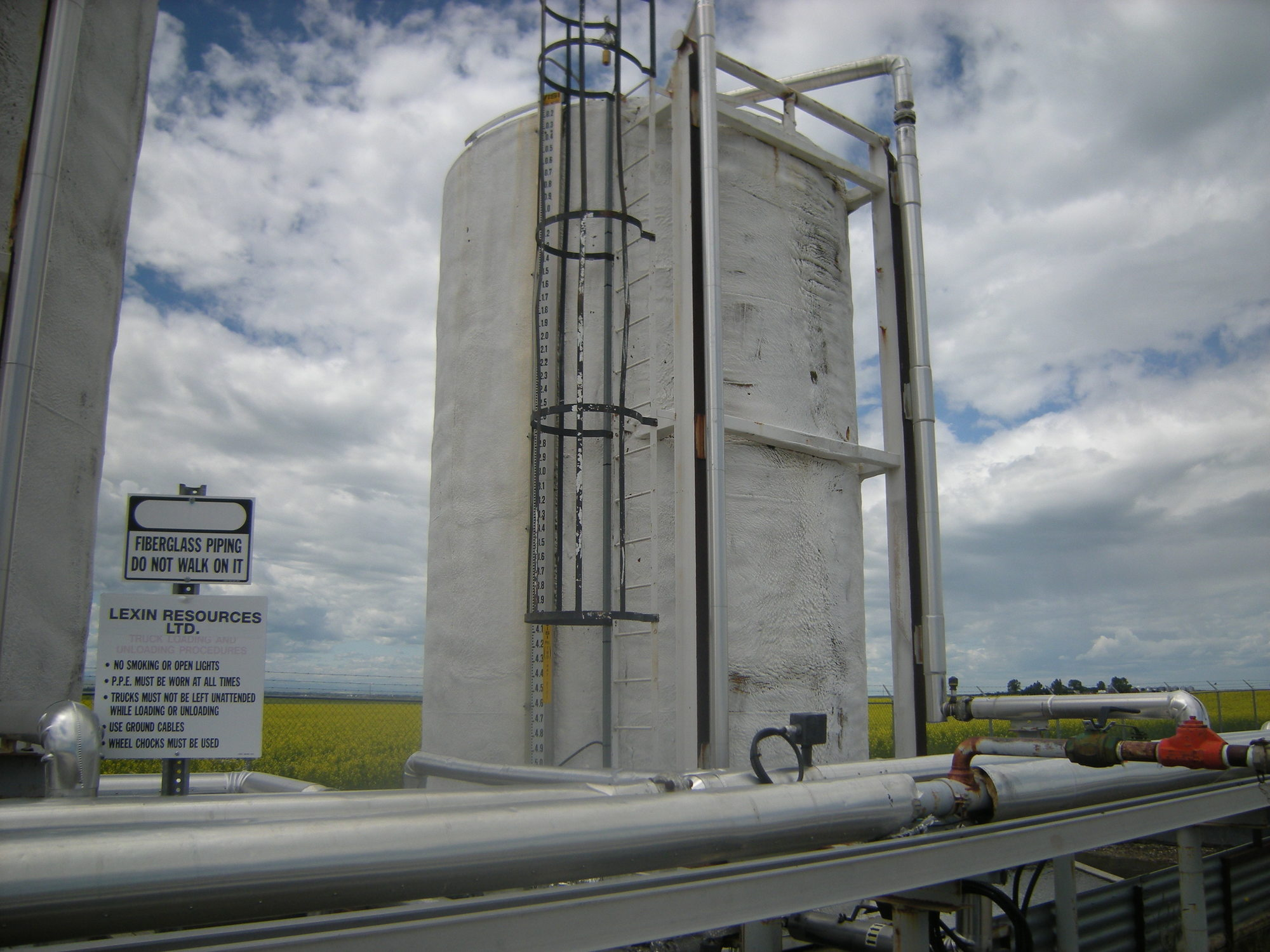 1998 storage tank - 400 bbl