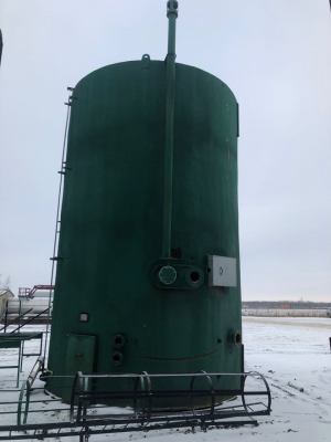 insulated 750bbl tank