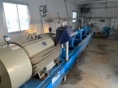 horizontal pumping system