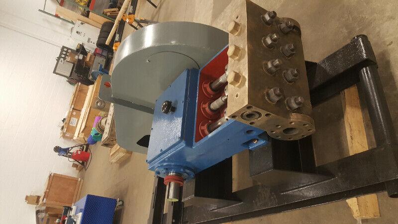"60 horsepower 3"" stroke horizontal triplex single acting plunger pump"