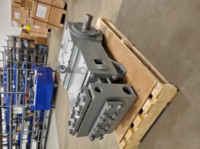 "bear bd 60m 1-1/4"" plungers, 60hp triplex pump (reconditioned)"