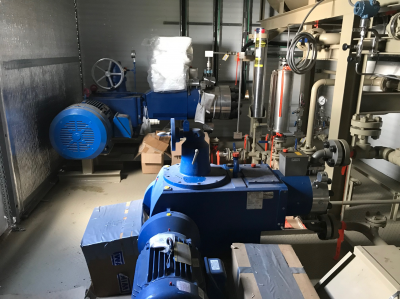 new hi pressure chemical injection building
