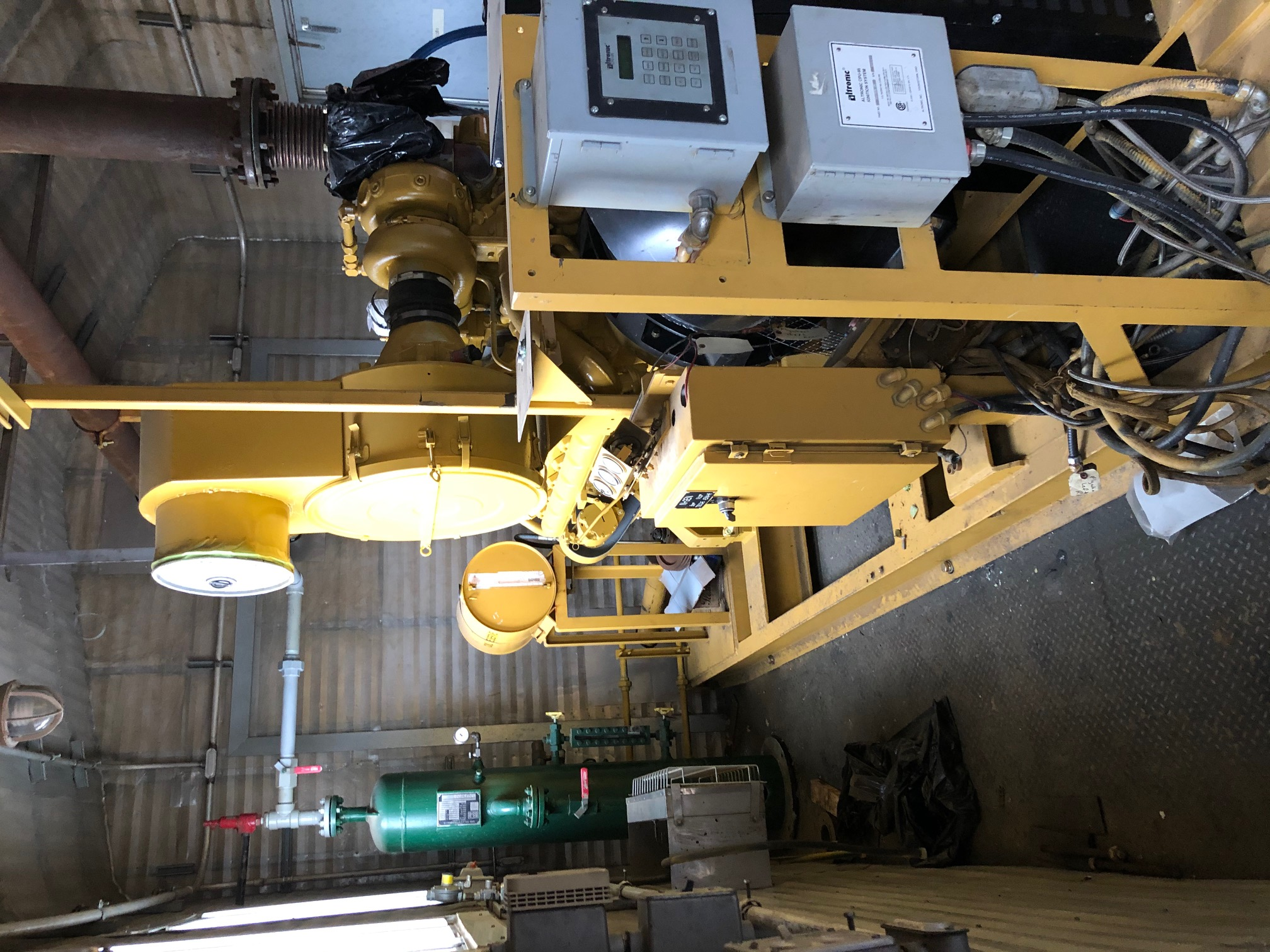 generator: marathon magna-max dvr 450kw driver: caterpillar 3412 637 hp – vortex rebuilt - zero-hour
