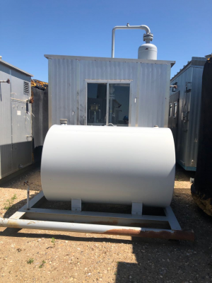 100bbl insulated tank combo with 16