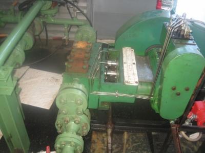gaso 3211 triplex pump, w/ us electric 10 hp motor