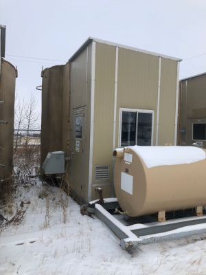 200bbl insulated tank with separator package