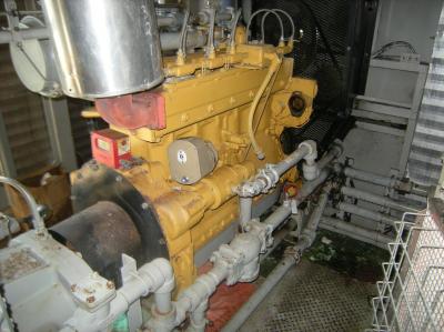 cat screw compressor ariel a*-208 362 psi