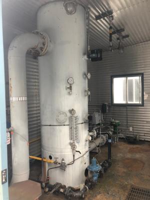 36'' x 12' plains oil inlet separator
